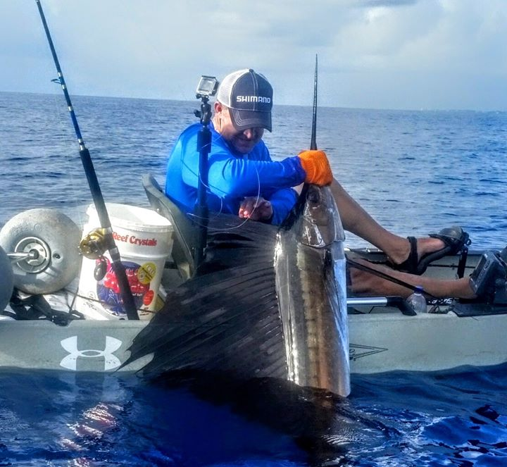 Chris Wojohoitz Landed this beautiful sailfish on a custom Adrenaline acid wrap rod..jpg