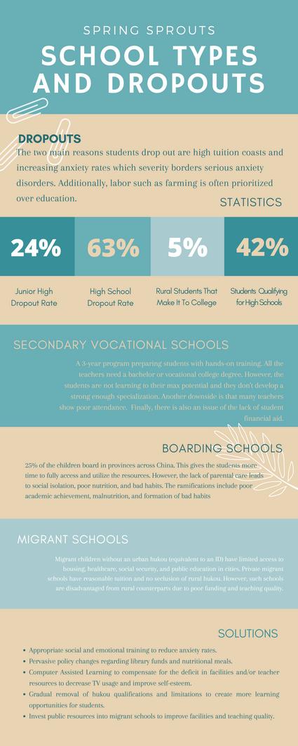 School Types & Dropouts