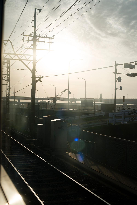 朝の電車から