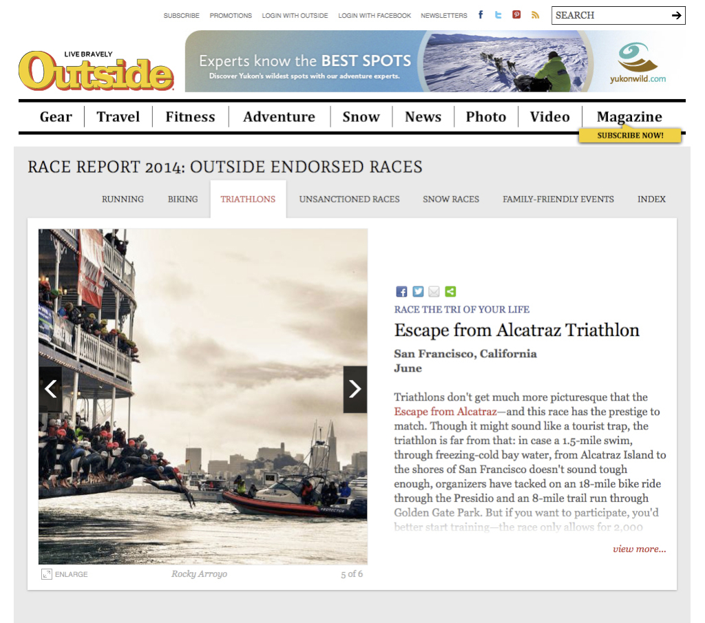 Outside Magazine Online