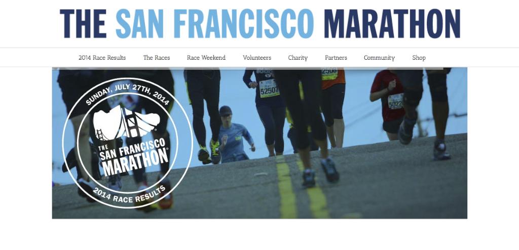 The San Francisco Marathon