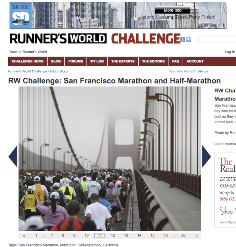 Runner's World Magazine Online