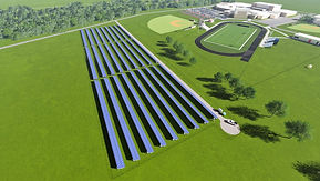Taylor School Corporation Solar System with Energient Energy Monitoring and Controls
