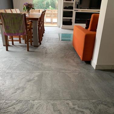 Silver Grey Slate veneer