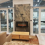 Rustique fireplace aspire homes show.jpg