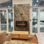 Rustique fireplace aspire homes show.jpg