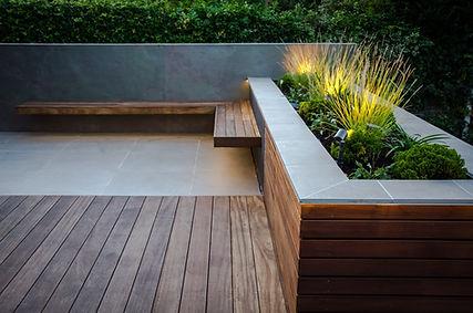 arco colore external Altrincham garden (