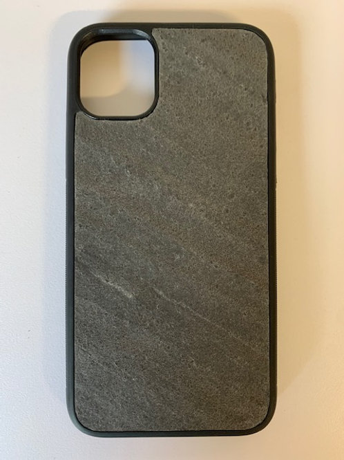D Black Phone Case For iPhone 11