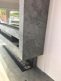slate veneer wall cladding