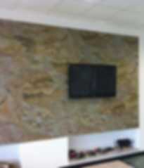 Slate veneer sheets for interior wall coverings ultra light natural stone