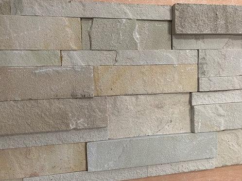 Mint Sandstone Split face Cladding 3 sq mtrs