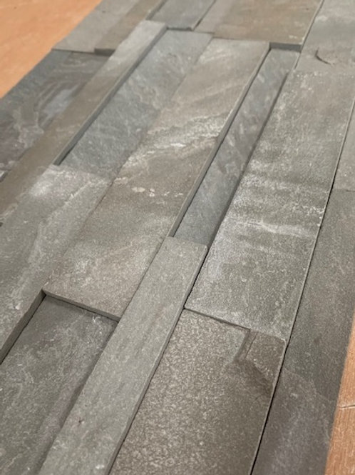 Grey Sandstone Split face Cladding 3 sq mtrs