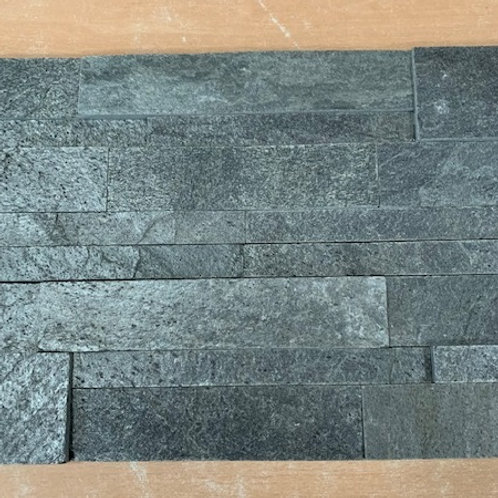 Silver Grey Slate Split face Cladding 3 sq mtrs