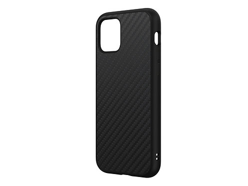 Rhinoshield SolidSuit Protector iPhone 11Pro Fibra De Carbón Negro