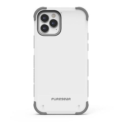 PureGear Dualtek Protector iPhone 12 / 12 Pro Blanco
