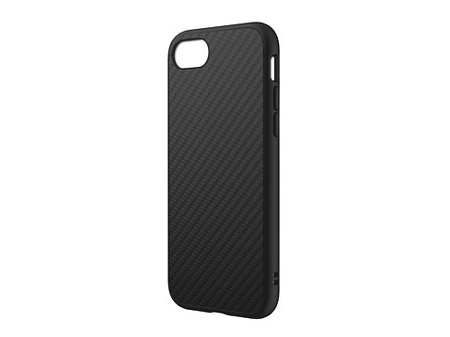 RHINOSHIELD SolidSuit Protector iPhone SE2020/8+/7+ Fibra De Carbón Negro