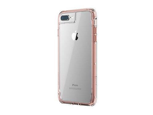 Griffin Survivor Clear/Rosa Iphone SE/8/7