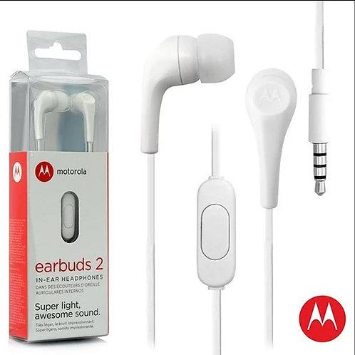 Motorola Manos Libres  - Earbuds 2 Blanco
