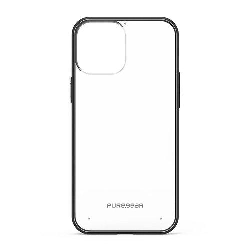 PureGear Slim Shell Protector Iphone 12  / 12 Pro Transparente/Negro