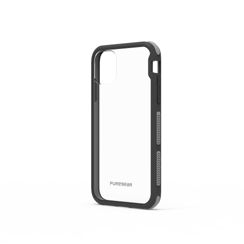 PureGear - Dualtek (CL/BK) iPhone 11