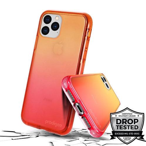 Prodigee Safetee Flow Protector iPhone 11Pro Naranja