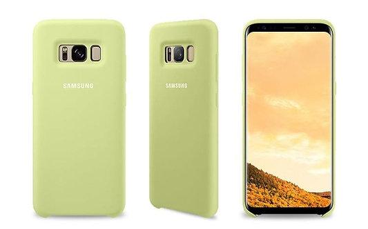 Samsung Silicone Cover Galaxy S8+Verde