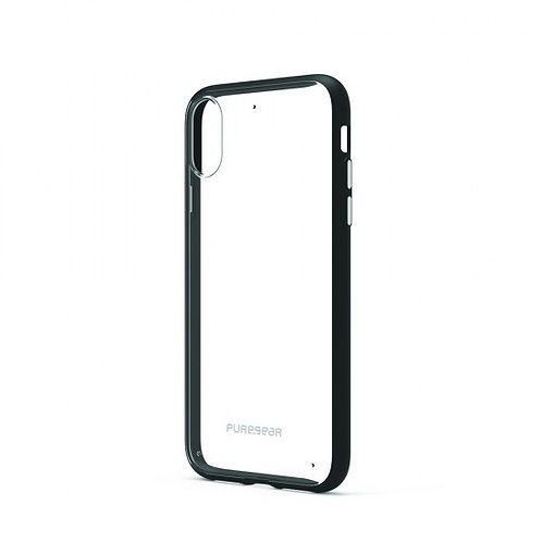 PureGear - Slim Shell (Cl/Bk) iPhone XR