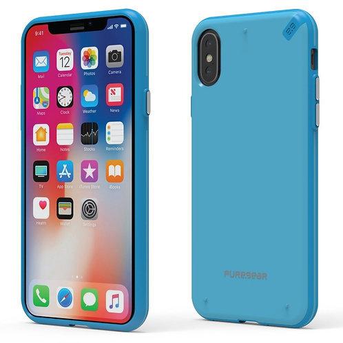 PureGear Slim Shell  iPhone XS / X Azul