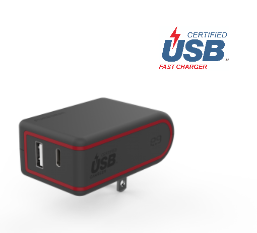PureGear - DUAL USB-PD CHARGER, 57W