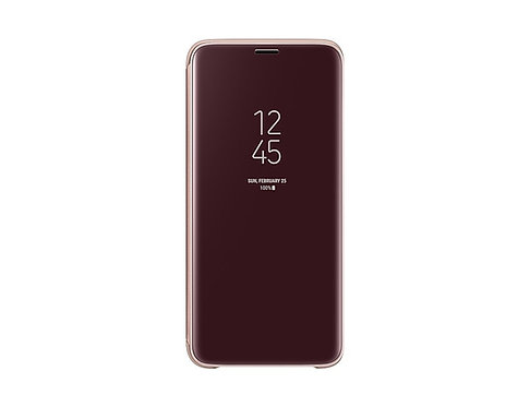 Samsung Clear View Standing Cover Galaxy S9 Violeta