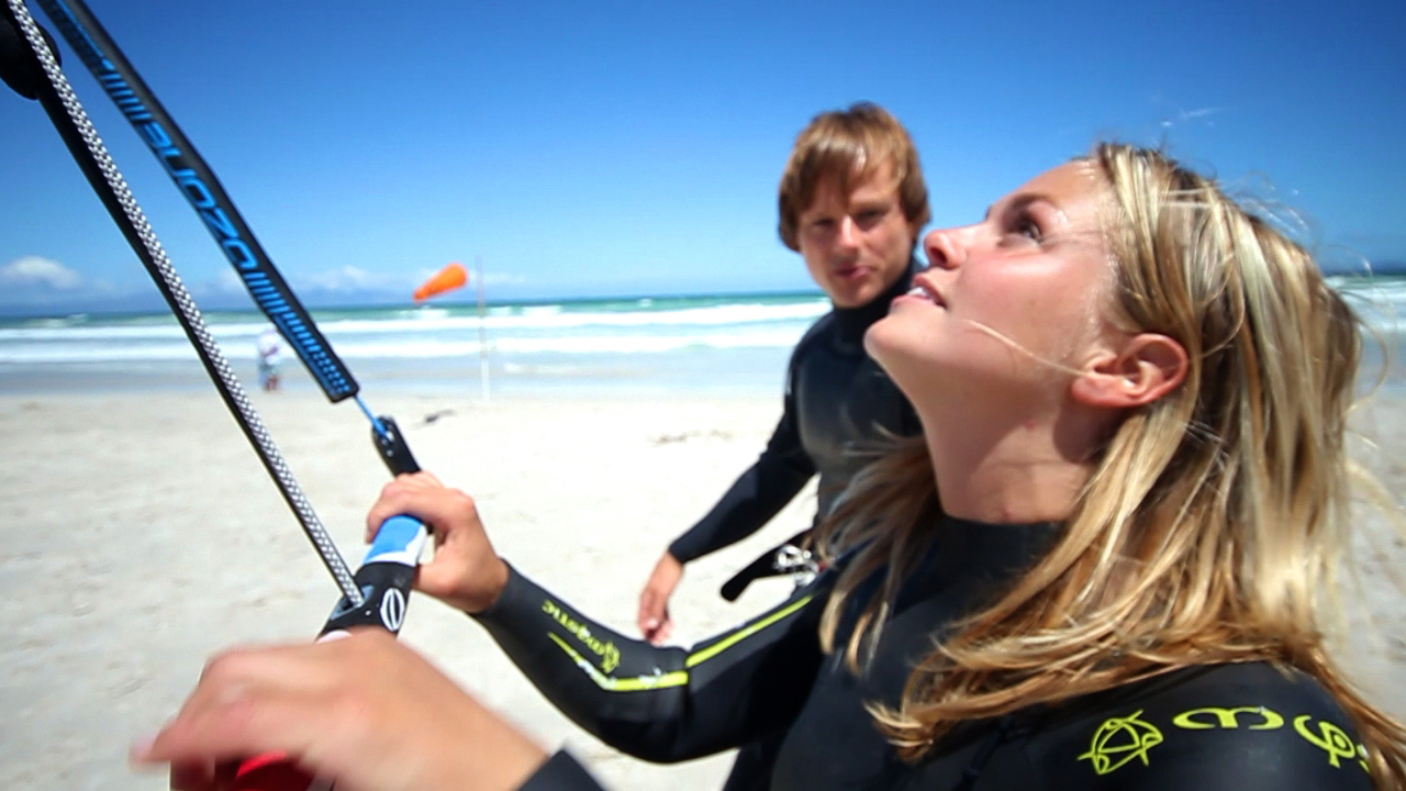 Kite Surfing with Surfstore Africa