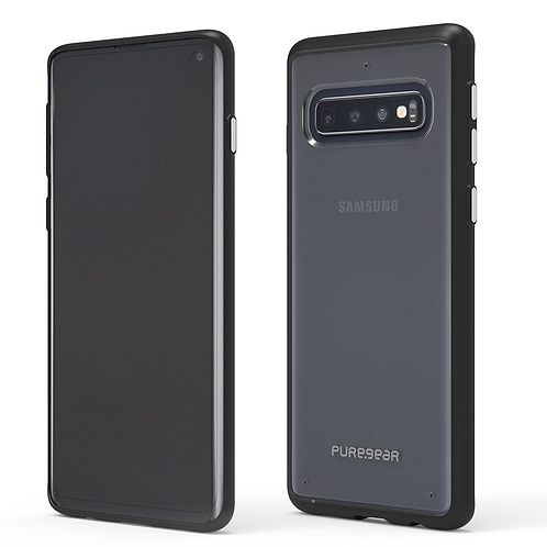 PUREGEAR Slim Shell Protector Galaxy S10 Transparente/Negro