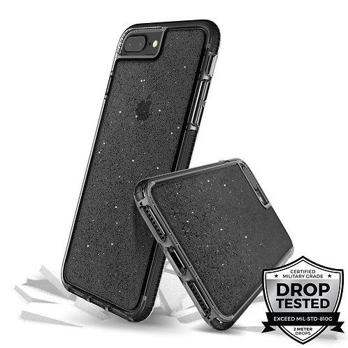 PRODIGEE Superstar Protector iPhone 8+/7+ Negro/Escarchado