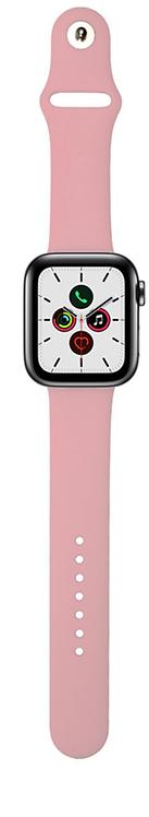 Xqisit Pulsera de Silicon Watch 44mm/42mm Rosado