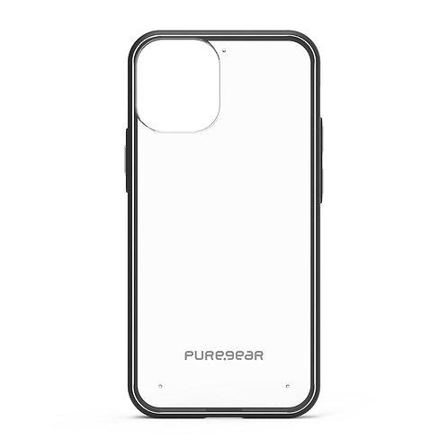 PureGear Slim Shell Protector Iphone 12  Mini Transparente/Negro