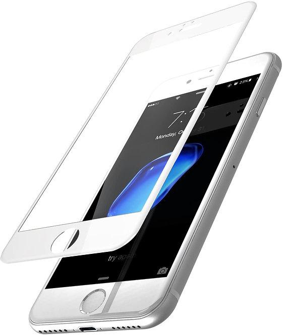 Soprem Vidrio Templado 9D iPhone 7/8/SE2020 Borde Blanco