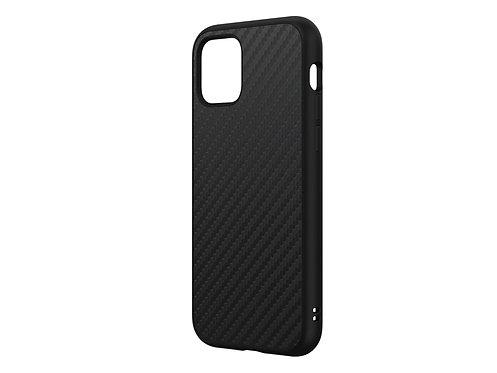 RHINOSHIELD SolidSuit Protector iPhone 11Pro Fibra De Carbón Negro