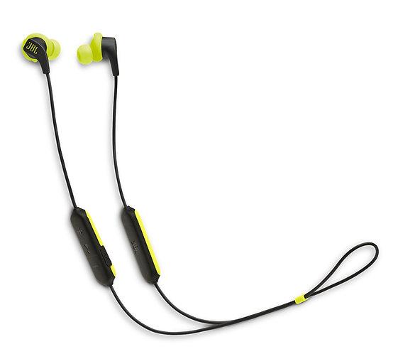 JBL Endurance Run Auriculares Bluetooth Negro/Amarillo