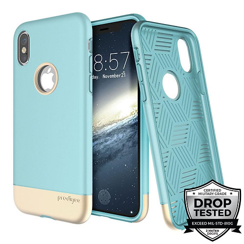 PRODIGEE Fit Pro Protector iPhone X/Xs Azul