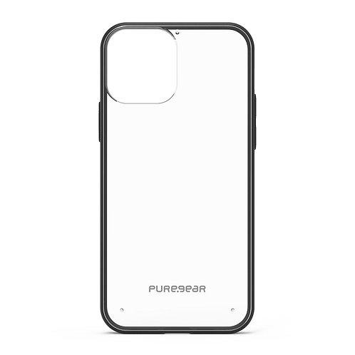 PureGear Slim Shell Iphone 12 Pro Max Transparente/Negro