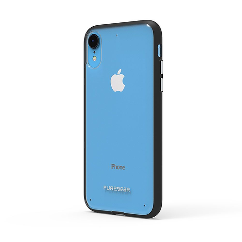 PUREGEAR Slim Shell Protector iPhone XR Transparente/Negro