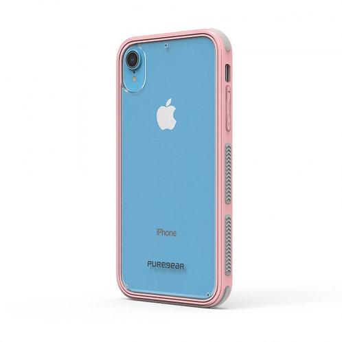 PureGear - Dualtek Clear (rosa) iPhone XR