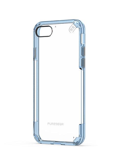 Puregear Slim Shell Pro Protector iPhone SE2020/8/7 Transparente/Azul