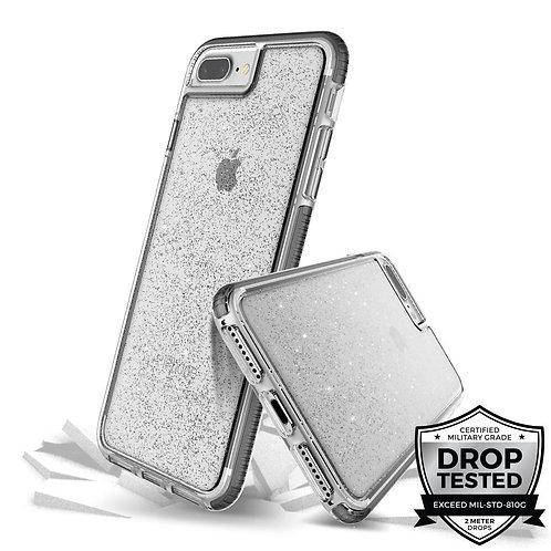 PRODIGEE Superstar Protector iPhone 8+/7+ Transparente/Escarchado