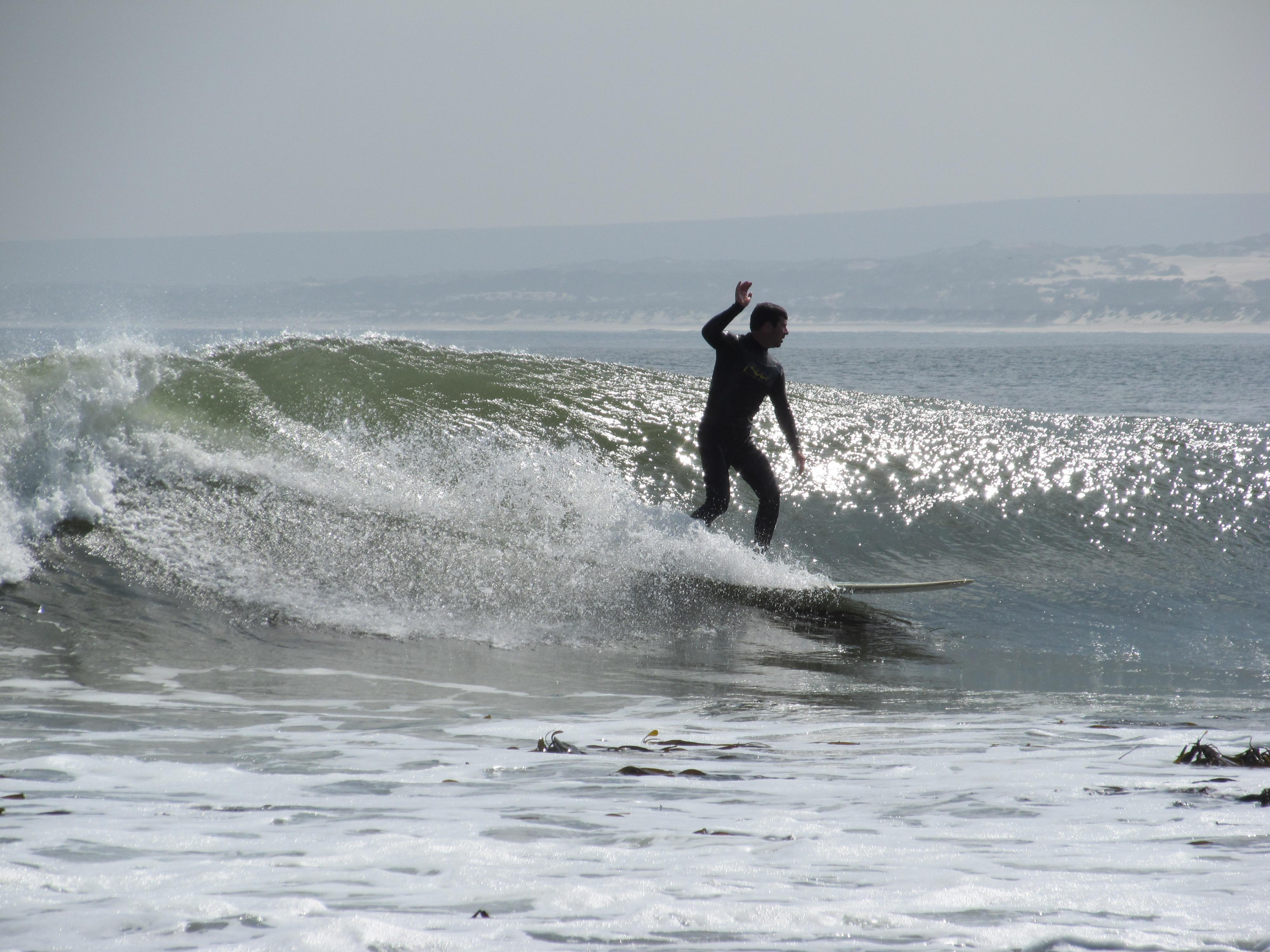 Surfing the Atlantic
