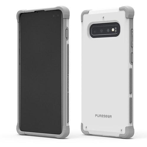 PUREGEAR Dualtek Protector Galaxy S10 Blanco