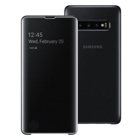 Samsung Flip Cover - Galaxy s10+ (Negro)