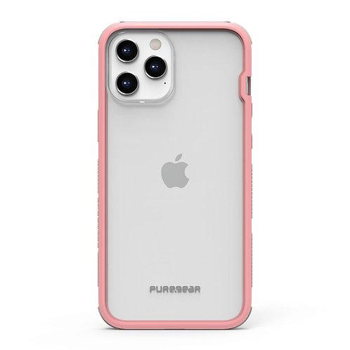PureGear Dualtek Iphone 12 Pro Max Transparente/Rosa