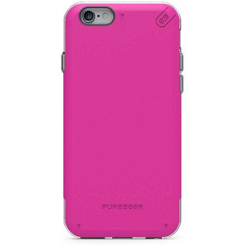 Puregear Dualtek Protector iPhone 6+/6S+ Fucsia