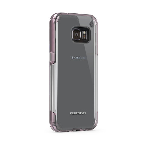Puregear Slim Shell Protector Galaxy S7 Transparente/Rosa